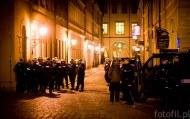 Dobrze, że pojawiła się policja i podgrzała atmosferę